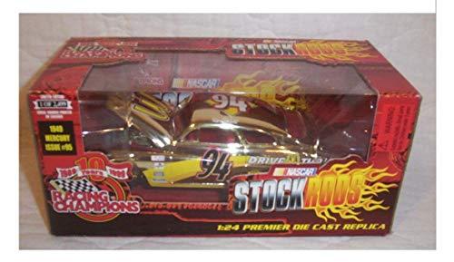 - Stock Rods Racing Champions Nascar Bruce Lee 49 Mercury 1 of 2499 1:24 Die cast