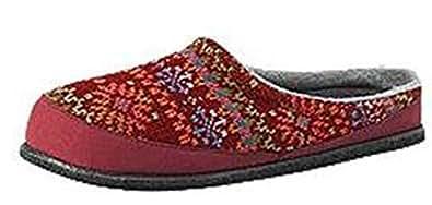 Fritter Free Heel Slipper - Womens - 8 - BRICK