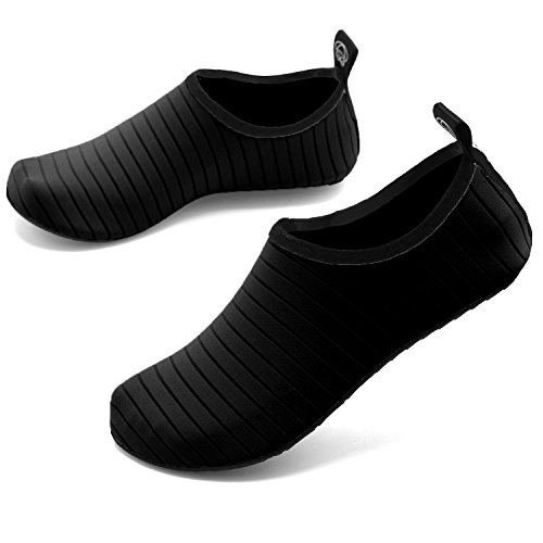 Shoes Swim welltree Mens Womens Aqua Quick Driving Sports Black Garden 2 Yoga Walking Swim Water Shoes Beach for Lake Boating Shoes Dance Dry Park Breathable Unisex rr7nWqZx