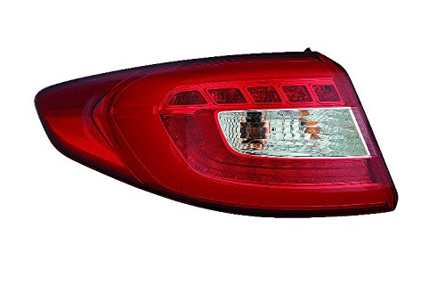 Outer Led Type (Depo 321-1965L-AF Tail Lamp Assembly (LED TYPE OUTER DRIVER SIDE NSF))
