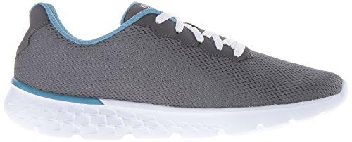 de Run Skechers Zapatillas GO para Ccbl Gris Mujer 400 Deporte 4a4UIx