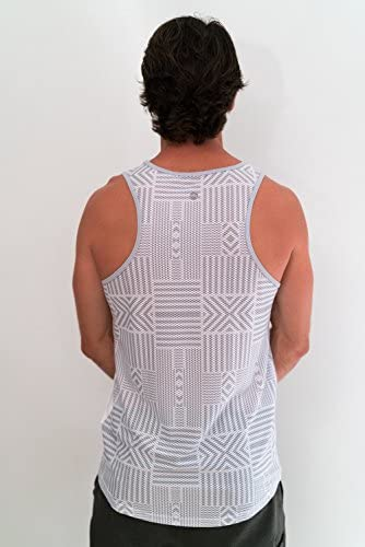 Hidden Avail in 5 Colors//Designs Active Wear Athleisure, dasFlow Mens Tank Top with 5 Pockets