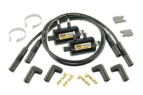 (ACCEL 140403K Black Ignition Coil Kit )