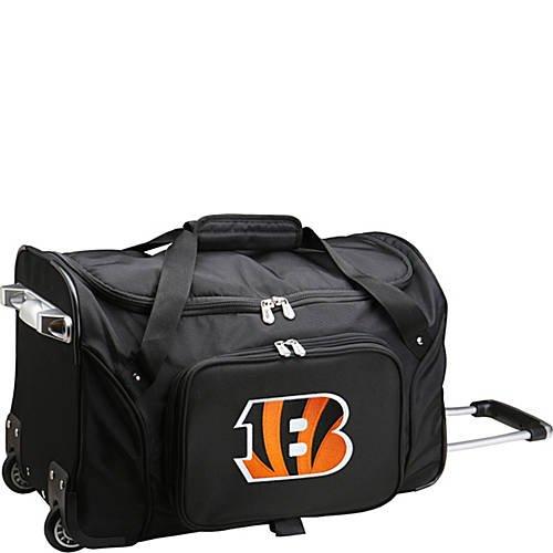 NFL 22'' Rolling Duffel Cincinnati Bengals by TableTop King