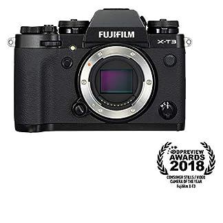 "Fujifilm X-T3 26.1 MP Mirrorless Camera Body (APS-C X-Trans CMOS 4 Sensor, X-Processor 4, EVF, 3"" Tilt Touchscreen, Fast & Accurate AF, Face/Eye AF, 4K/60P Video, Film Simulation Mode) - Black 14"