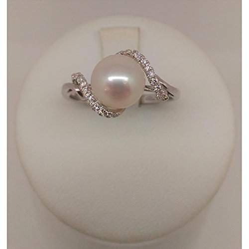 Bague Giorgio Visconti Femme abx15590or blanc perle