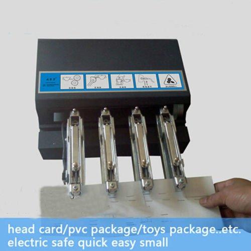 New Electric Four Head stapler Multi-head Stapler Card Binding Machine Four head stapling machine
