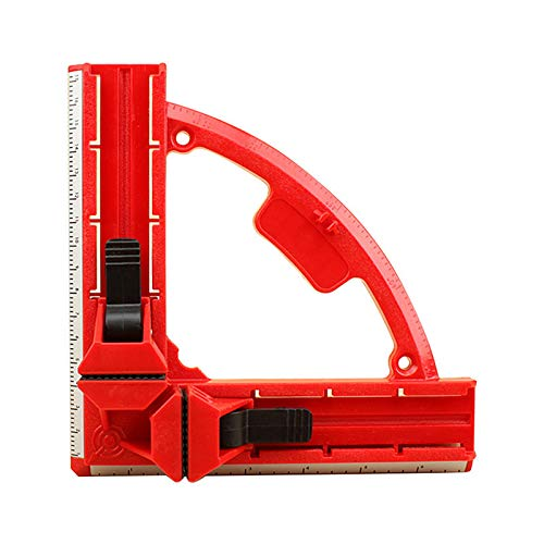 Right Fish - Ochoos Quick 90-Degree Right-Angled Clip Glass Fish Tank Clamp Woodwork Frame Corner Clamp Right Angle Clamp woodworking Tool