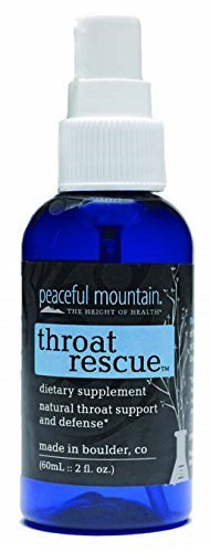 Throat Rescue 2 OZ by Peaceful Mountain