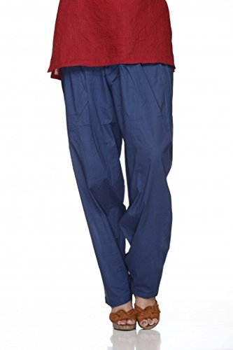 (Cotton Plain Indian Salwar Pants in Several Colour - Kameez Yoga Dress)