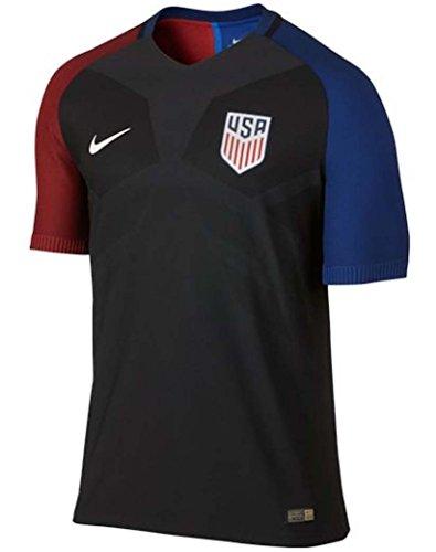 2016-2017 Nike US Authentic Away Vapor Jersey (Black) (XXL)