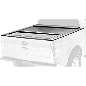 Roll-N-Lock LG111M M-Series Black Retractable Locking Tonneau Cover