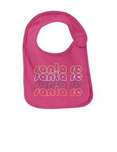 Santa Fe Mexico Retro Funny Infant Jersey Bib Sangria One - Santos Sangria