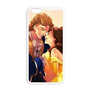 Cutomize Beauty And Beast Ultimate Protection Scratch Proof Case TPU Skin for iphone 5 5s Cover inch