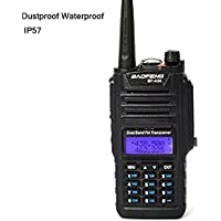 Baofeng BF-A58 Amateur Radio 136-174/ 400-520MHZ Dual Band Dustproof Waterproof IP57 Ham Two Way Radio Walkie Talkie With Microiphone