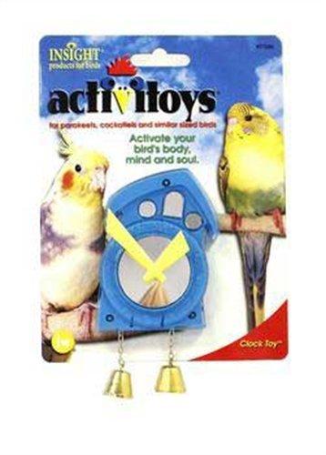 activitoys clock bird toy