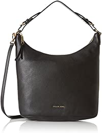 Women's Large Lupita Leather Hobo Bag Shoulder Tote