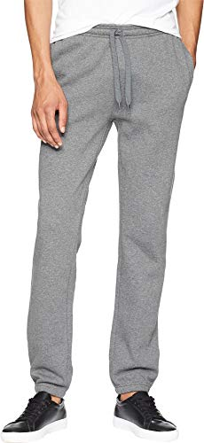 - Lacoste Men's Tennis Training Sport Fleece Pant with Elastic Leg Opening, Pitch Gray, 5