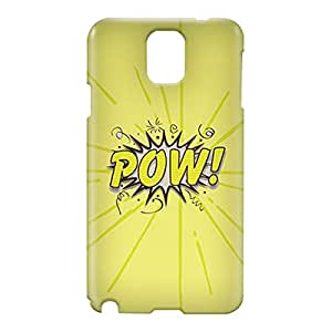 Loud Universe Samsung Galaxy Note 3 3D Wrap Around Comic Pow Print Cover - Green