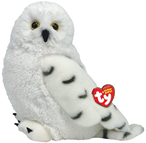 e2d013e69f0 Image Unavailable. Image not available for. Color  TY Beanie Buddy - HOOTIE  the Snow Owl