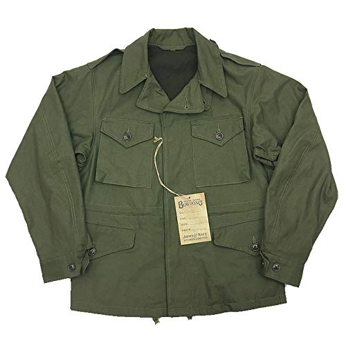 (VTGDR US Army Men's M-43 Field Jacket Military Green 40)