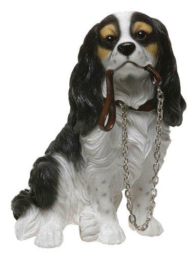cavalier king charles spaniel dog ornament walkies range of