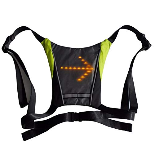 Hi Viz Vest With Led Lights in US - 3