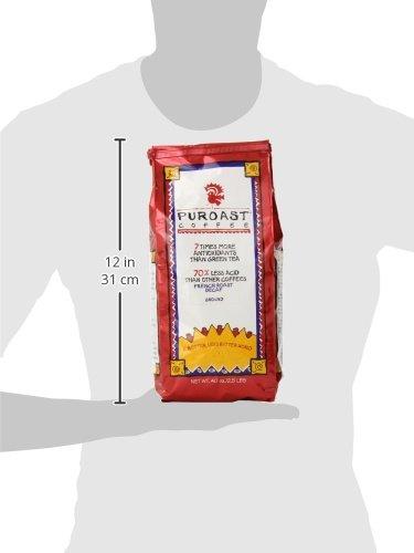 Puroast Low Acid Coffee French Roast Natural Decaf Drip Grind, 2.5-Pound Bag