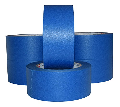 6 ROLLS - JAK Industrial Blue Painters Tape PROFESSIONAL Grade - 2