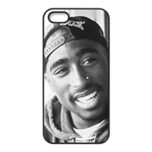 Happy Tupac Shakur Cell Phone Case for Iphone 5s