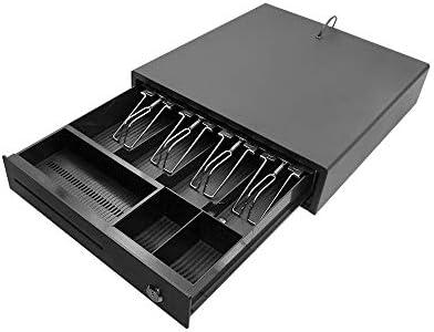 Aibecy Cajón de efectivo para trabajo pesado Cajón de caja de caja ...