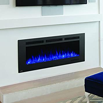 napoleon 42 linear wall mount electric fireplace reviews allure phantom mesh screen firep