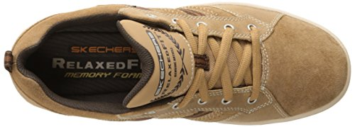 Skechers Herren Sorino Evole Low-Top, Weiß, Various Beige - Beige