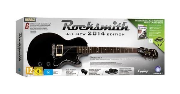 Rocksmith 2014 - Pack Guitarra Edition: Amazon.es: Videojuegos