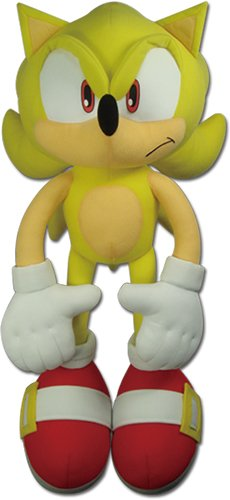 GE Animation Ge-52626 The Hedgehog - Super Sonic Plush, 20