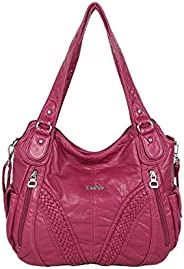 Angelkiss Handbags for Women Waterproof Top-Handle Satchel Shoulder Bags 1555