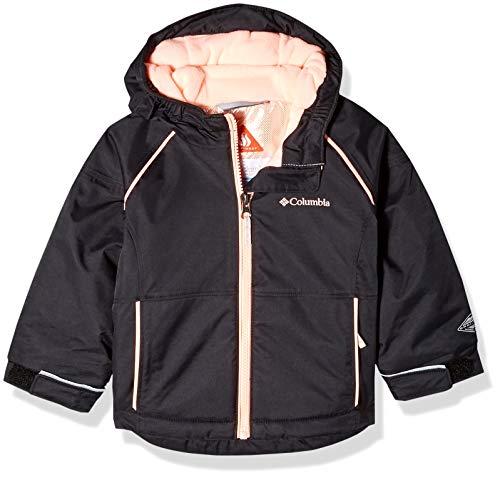 Columbia Toddler Girl's Alpine Action Ii Jacket, 3T, Black