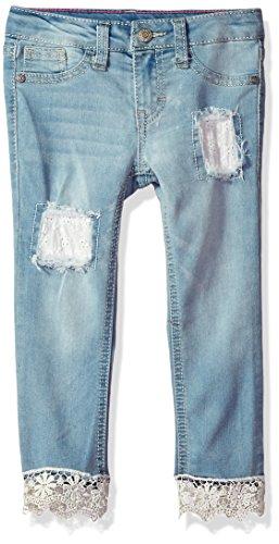 LEE Little Girls' Fashion Skinny Crop Jean, Sky