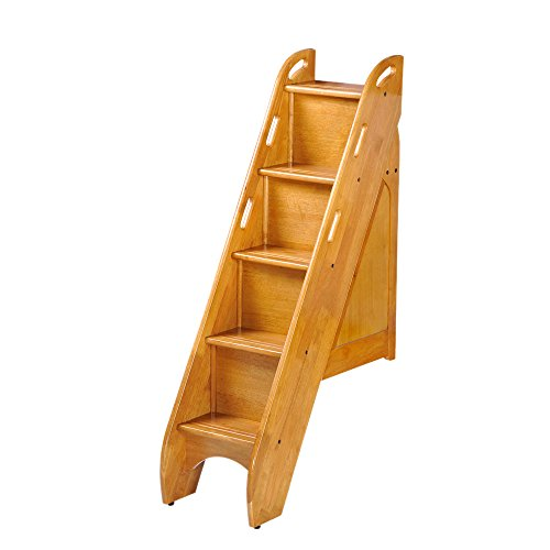 Best Price Night And Day Furniture Bunk Bed Storage Stairs Use Only With Cinnamon Twin Over Twin And...