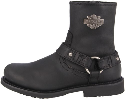 Harley-Davidson Men's Scout Motorcylce Harness Boot, Black, 10 M US