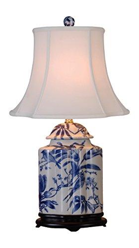Blue And White Porcelain Table Lamps - East Enterprises LPBWFB0810A Table Lamp, Blue/White