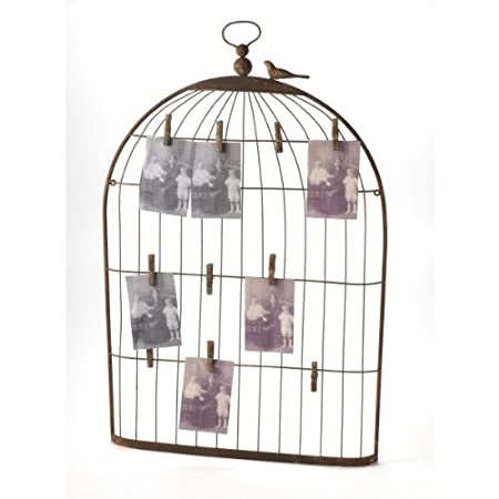 New Large Birdcage Notice Board Card Display Amazoncouk Simple Birdcage Memo Board