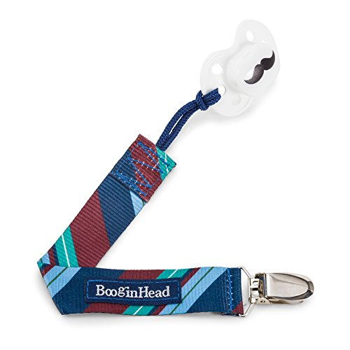 p Pacifier Clip and Pacifier Holder with Universal Loop - Prep, Blue, Green, and Brown ()
