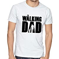 Playera Hombre Dia del Padre Papa The Walking Dad #561