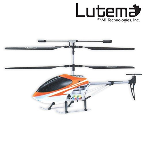 Lutema Mid-Sized 3.5CH Remote Control Helicopter, Orange