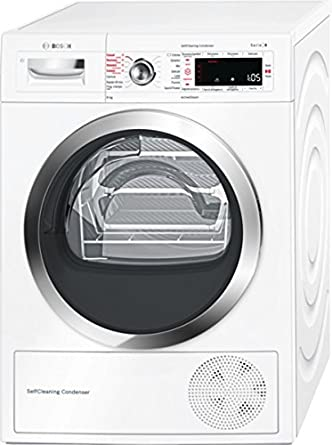 Bosch Serie 8 WTW855R8IT Independiente Carga frontal 8kg A++ ...