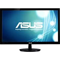 Asus Computer International - Asus Vs247h-P 23.6 Led Lcd Monitor - 16:9 - 2 Ms - Adjustable Display Angle - 1920 X 1080 - 16.7 Million Colors - 300 Nit - 50,000,000:1 - Full Hd - Hdmi - Vga - 33 W - Black - Rohs, Energy Star, Weee Product Category: Computer Displays/Monitors