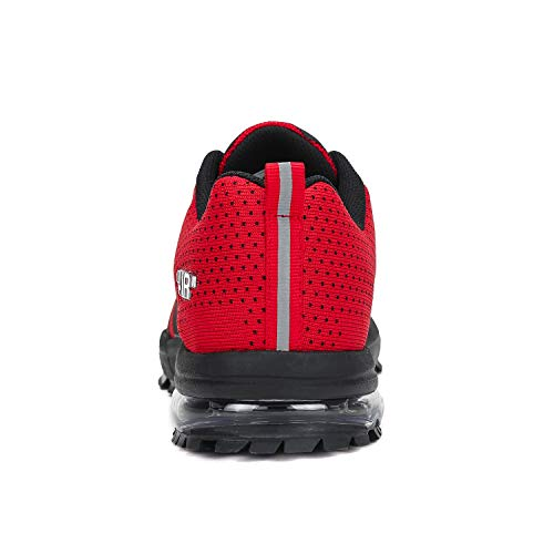 Pastaza Tennis Shoe for Women Air Mens Athletic Shoes Anti Slip Sneaker Lightweight Running Red