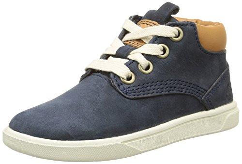 Timberland Jungen Groveton Leather Chukka Boots Blau (Blue)