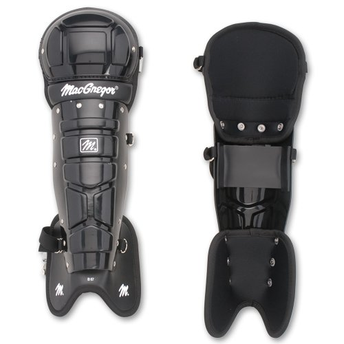 MacGregor MCB67 Umpire's Leg Guards (Pair) by MacGregor